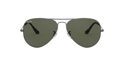 Ray Ban - Aviator Classic Transparent Grey Unisex Sunglasses - 58mm