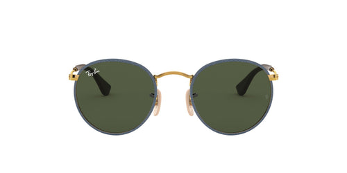 Ray Ban - RB3475Q Gold Round Men Sunglasses - 50mm