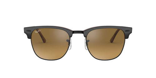 Ray Ban - Clubmaster Grey Oval Unisex Sunglasses - 51mm