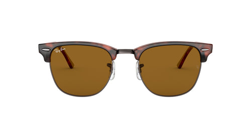 Ray Ban - Clubmaster Havana Oval Unisex Sunglasses - 49mm