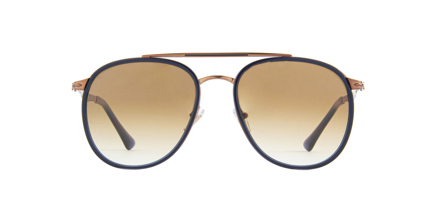 Persol - PO2466S Brown Aviator Men Sunglasses - 56mm