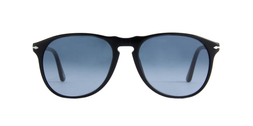Persol - PO9649S Black Aviator Men Sunglasses - 55mm