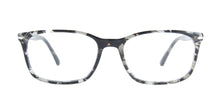 Persol - PO3189V Tortoise Grey Rectangular Men Eyeglasses - 55mm