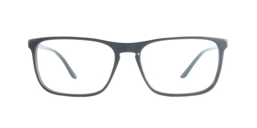 Starck - SH3026 Blue Crystal Rectangular Men Eyeglasses - 59mm