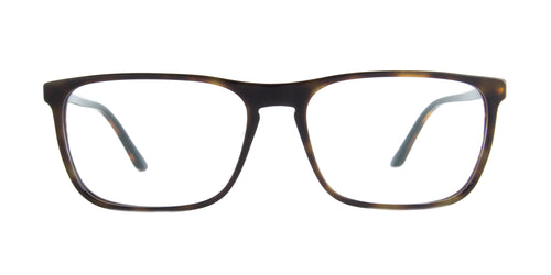Starck - SH3026 Havana Black Rectangular Men Eyeglasses - 59mm