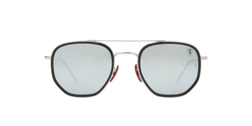Ray Ban - RB3748M Silver Square Unisex Sunglasses - 52mm