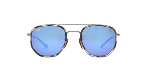 Ray Ban - RB3748M Gunmetal Square Unisex Sunglasses - 52mm
