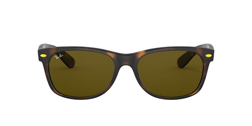 Ray Ban - RB2132M Havana Square Unisex Sunglasses - 55mm