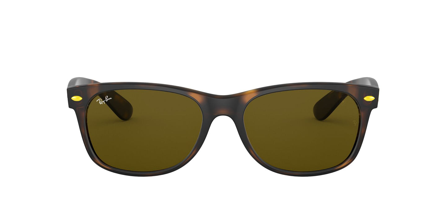 Ray Ban - New Wayfarer Havana/Brown Unisex Sunglasses - 55mm