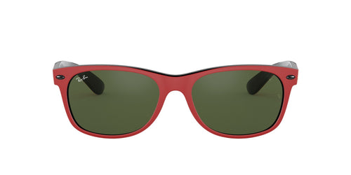 Ray Ban - RB2132M Red Square Unisex Sunglasses - 55mm
