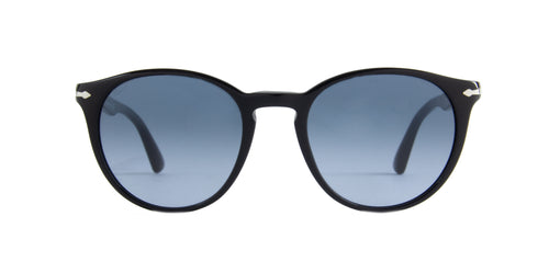 Persol - PO3152S Black Oval Men Sunglasses - 52mm