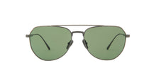 Persol - PO5003ST Gunmetal/Green Polar Aviator Unisex Sunglasses - 54mm