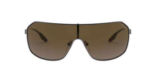 Prada Sport - PS53VS Matte Gunmetal Pilot Men Sunglasses - 37mm