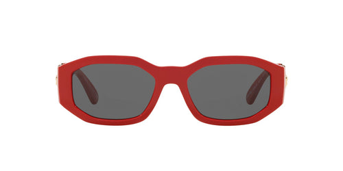 Versace - VE4361 Red Irregular Unisex Sunglasses - 53mm