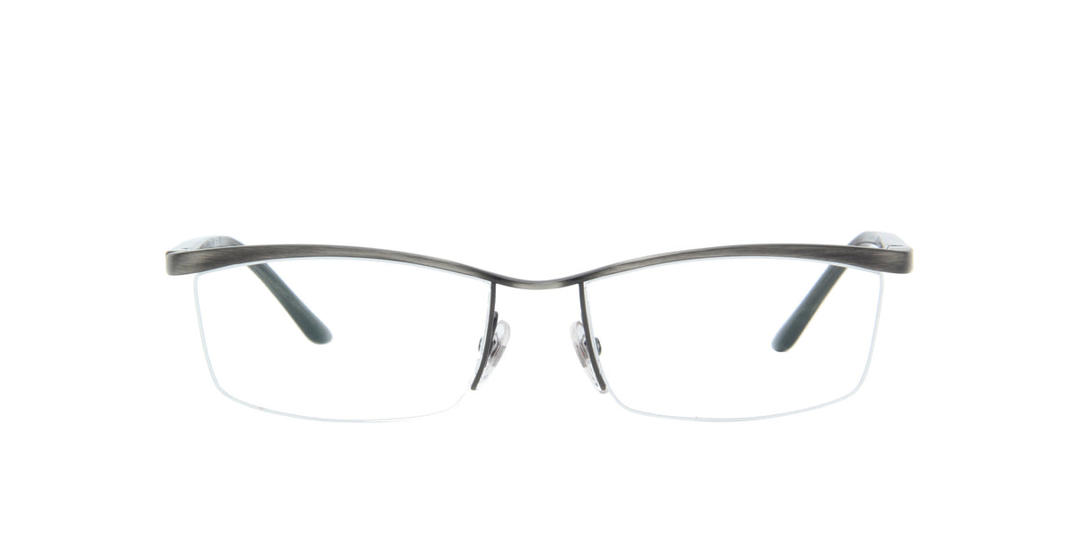 Starck - PL9901 Antique Ruthenio Rectangular Men Eyeglasses - 56mm