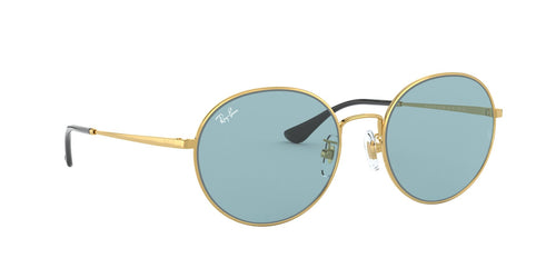 Ray Ban - RB3612 Gold Round Unisex Sunglasses - 56mm