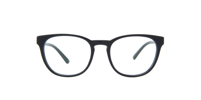 Starck - SH3058 Black/Demo Lens Oval Men Eyeglasses - 50mm