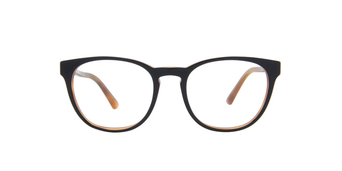 Starck - SH3058 Black Havana/Deme Lens Oval Men Eyeglasses - 50mm