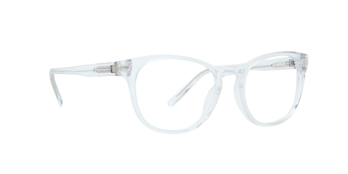 Starck - SH3058 Crystal/Demo Lens Phantos Men Eyeglasses - 50mm