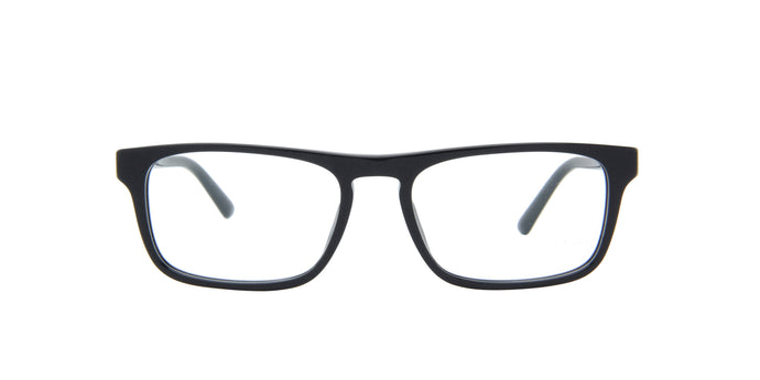Starck - SH3059 Black/Demo Lens Rectangular Men Eyeglasses - 53mm