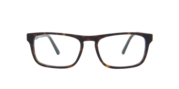 Starck - SH3059 Havana/Demo Lens Rectangular Men Eyeglasses - 53mm