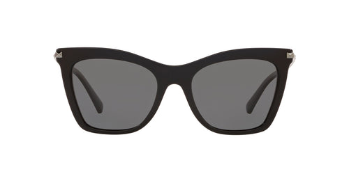 Valentino - VA4061 Black Cat Eye Women Sunglasses - 54mm