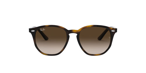 Ray Ban Jr - RJ9070S Havana Irregular Unisex Sunglasses - 46mm