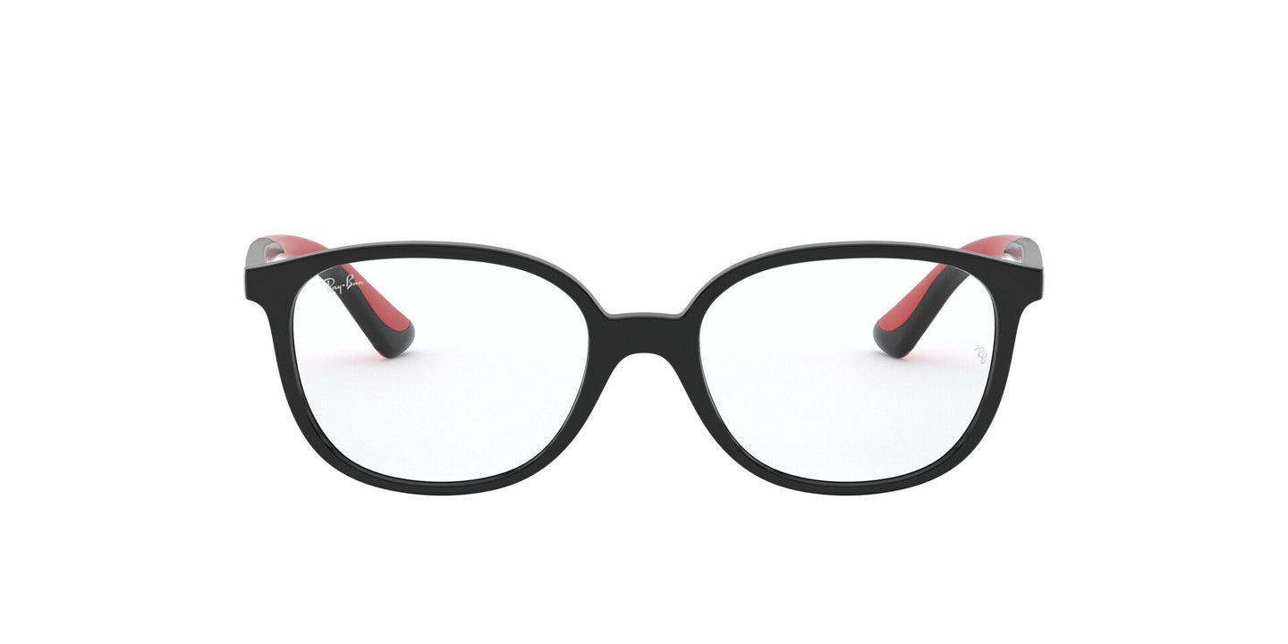 Ray Ban Jr - RY1598 Black/Clear Square Unisex Eyeglasses - 49mm