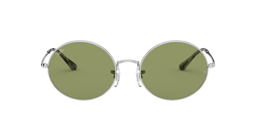 Ray Ban - Oval 1970 Silver Oval Unisex Sunglasses - 54mm