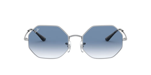 Ray Ban - Octagon 1972 Silver Geometric Unisex Sunglasses - 54mm