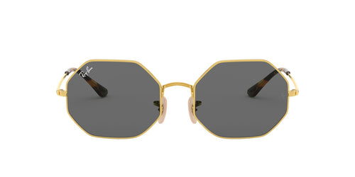 Ray Ban - Octagon 1972 Gold Geometric Unisex Sunglasses - 54mm