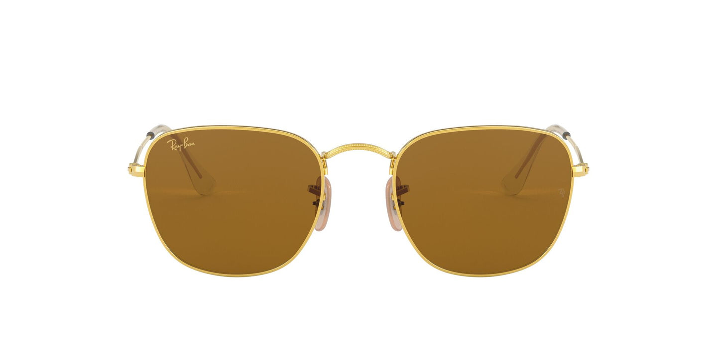 Ray Ban - Frank Legend Gold Legend Gold/Brown Square Unisex Sunglasses - 51mm