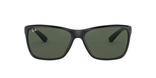 Ray Ban - RB4331 Black Square Men Sunglasses - 61mm