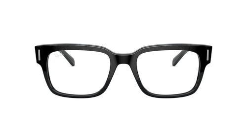Ray Ban Rx - RX5388 Black Square Men Eyeglasses - 53mm