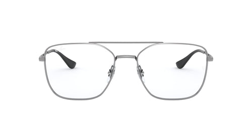 Ray Ban Rx - RX6450 Gunmetal Irregular Unisex Eyeglasses - 56mm
