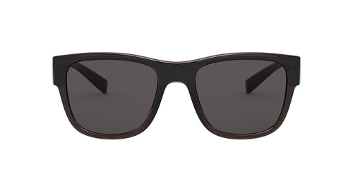 Dolce Gabbana - DG6132 Transparent Grey/Black/Grey Square Men Sunglasses - 54mm