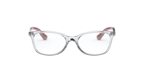 Ray Ban Jr - RY1586 Trasparent/Clear Rectangular Unisex Eyeglasses - 47mm