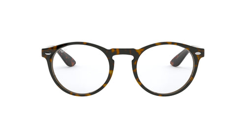 Ray Ban Rx - RX5283 Havana/Clear Phantos Unisex Eyeglasses - 49mm