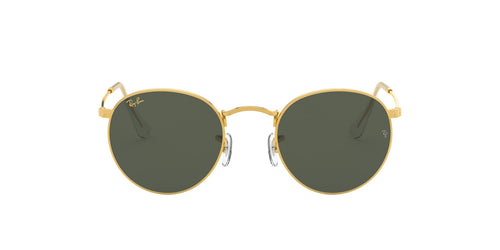 Ray Ban - Round Metal Legend Gold/Green Phantos Men Sunglasses - 50mm