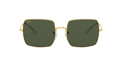 Ray Ban - Square 1971 Classic Legend Gold/Green Square Women Sunglasses - 54mm
