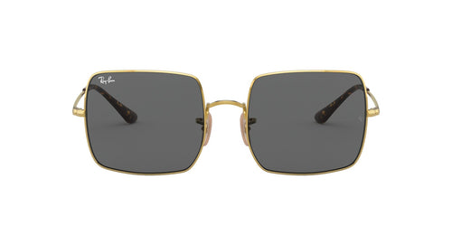 Ray Ban - Square 1971 Classic Gold/Dark Grey Square Women Sunglasses - 54mm