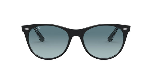 Ray Ban - Wayfarer II Black On Trasparent Phantos Unisex Sunglasses - 55mm
