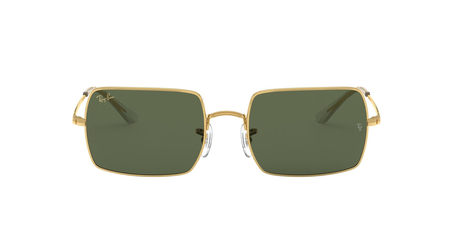 Ray Ban - Rectangle 1969 Legend Gold Legend Gold Rectangle Unisex Sunglasses - 54mm