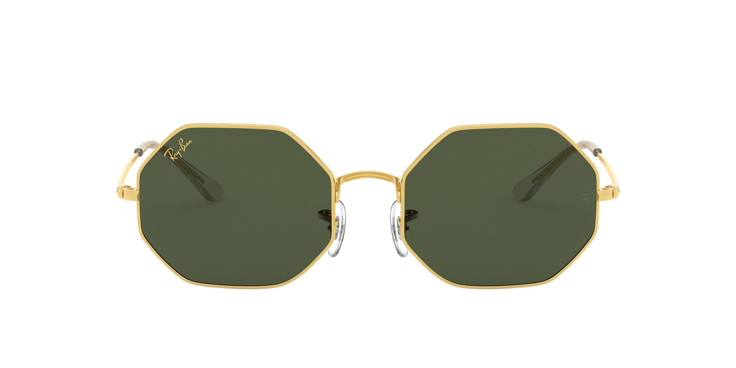 Ray Ban - Octagon 1972 Legend Gold/Green Geometric Unisex Sunglasses - 54mm