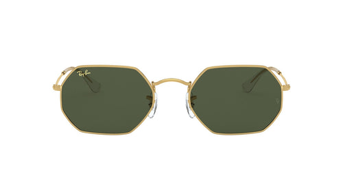 Ray Ban - Octagonal Legend Gold Gold Legend Geometric Unisex Sunglasses - 53mm