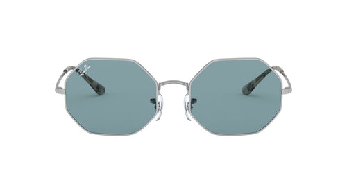Ray Ban - Octagon 1972 Silver Rectangle Unisex Sunglasses - 54mm