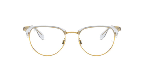 Ray Ban Rx - RX6396 Gold Phantos Unisex Eyeglasses - 51mm