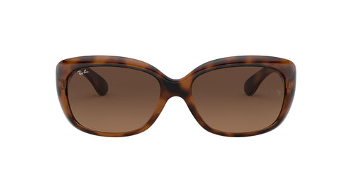 Ray Ban - Jackie Ohh Havana/Light Brown to Black Gradient Butterfly Women Sunglasses - 58mm
