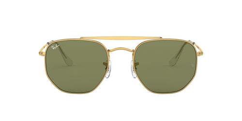 Ray Ban - Marshal Gold Irregular Unisex Sunglasses - 54mm
