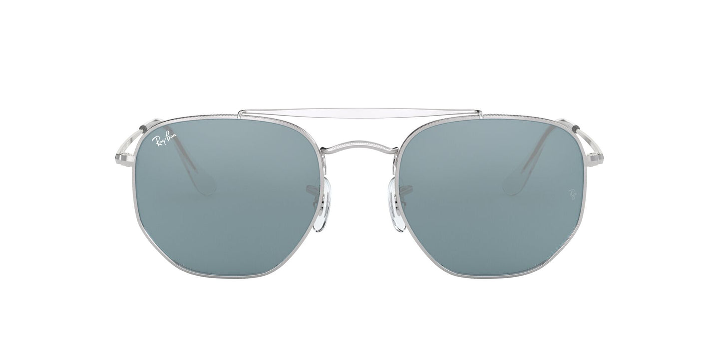 Ray Ban - Marshal Silver Geometric Unisex Sunglasses - 54mm